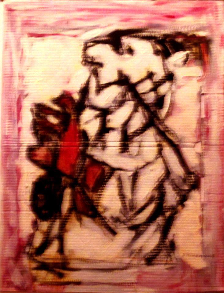 My teacher's portrait by ChristinRoussi on deviantART