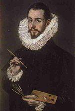 Retrato de Jorge Manuel Theotokópoulos (su hijo), 1600-1605
