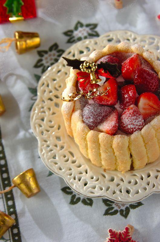 ベリーショコラアイスケーキ