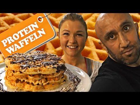 Sophias Diätgeheimnisse: Protein-Waffeln ohne Proteinpulver - YouTube