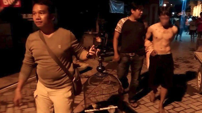 Tak Kapok, Baru Dua Bulan Bebas, Pria Asal Pulo Wonokromo Kembali Curi Burung