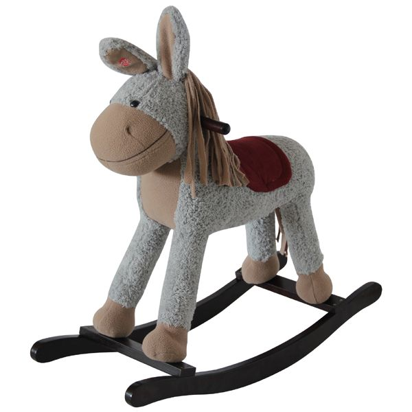 Kids' Grey Wooden Toy Rocking Horse. A must have for any child's bedroom or playroom. Hours of fun and only £44.99.