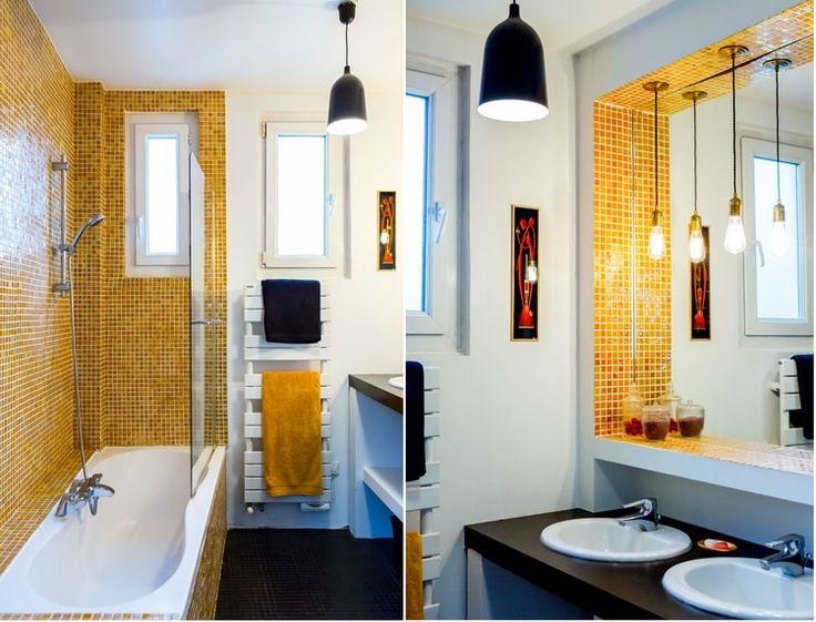 305 best Déco salle de bains images on Pinterest Bathroom, Small - plafond salle de bain pvc