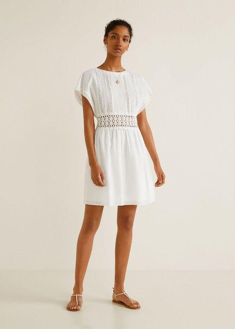 dc3f9b6284 Guipur pamut ruha - Női   dress   Dresses, Cotton dresses és Short ...