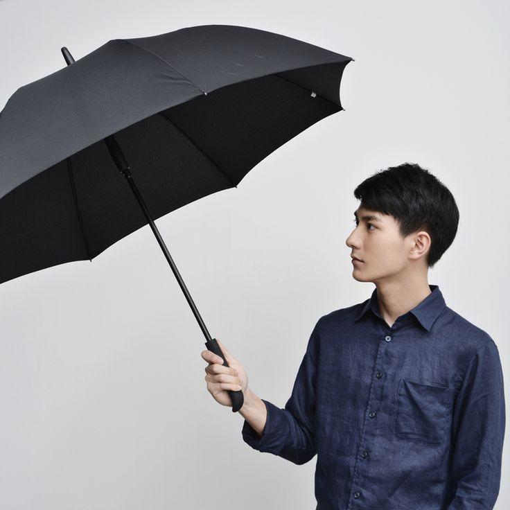 Japanese Male IT Portable Automatic Umbrella Long Handle Automatic Umbrella for Man Male Fashion All-match