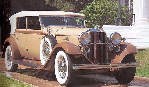 1932 Lincoln KB Convertible Sedan - (Lincoln Motor Company, a division of Ford Motor Company, Dearborn, Michigan 1917-present)