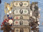 ◕• #1928 ESTATE LOT(5) $#1 $2 $5 $10 $20 FRN/SILVER #CERTIFICATE CURRENCY NO... Mega http://ebay.to/2hkAwMC