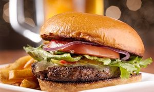 Groupon - $ 11 for Two Groupons, Each Good for $10 Worth of Burgers and Sides at The Lawrenceburger ($20 Value) in Lawrenceburg. Groupon deal price: $11