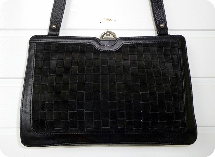 Etienne Aigner Vintage Leder Wildleder Tasche Shultertasche Handtasche Leather in Kleidung & Accessoires, Damentaschen | eBay