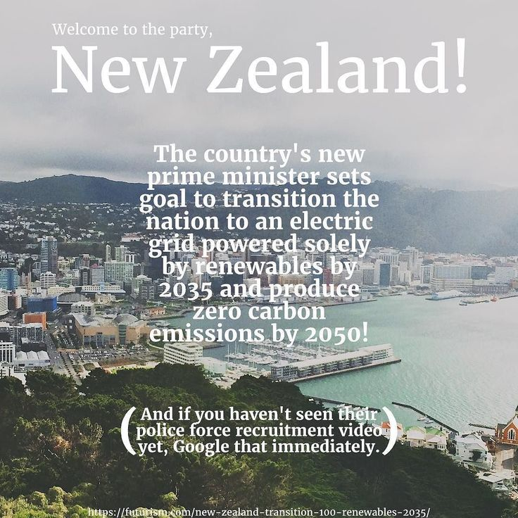 They already gave us the Flight of the Conchords. Then just a few days ago they released an incredible police recruitment video. And now this! New Zealand- you're killing it. Keep it up! Link in bio! #NewZealand #100percentrenewable #2035 #climatechange #future