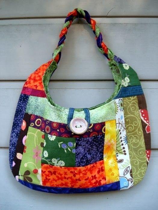 Лоскутные сумки пэчворк. Patchwork bags