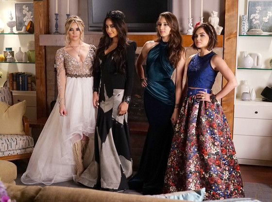 Pretty Little Liars Go To Pretty Little Prom: Who's The Best Dressed?