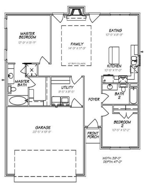 90 best images about house plans on pinterest house for Slab foundation floor plans