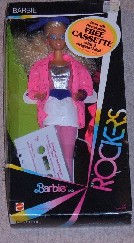 Barbie & the Rockers (Barbie & The Rock Stars in Europe) were introduced by Mattel in the mid-1980s to compete with Hasbro's popular Jem dolls.