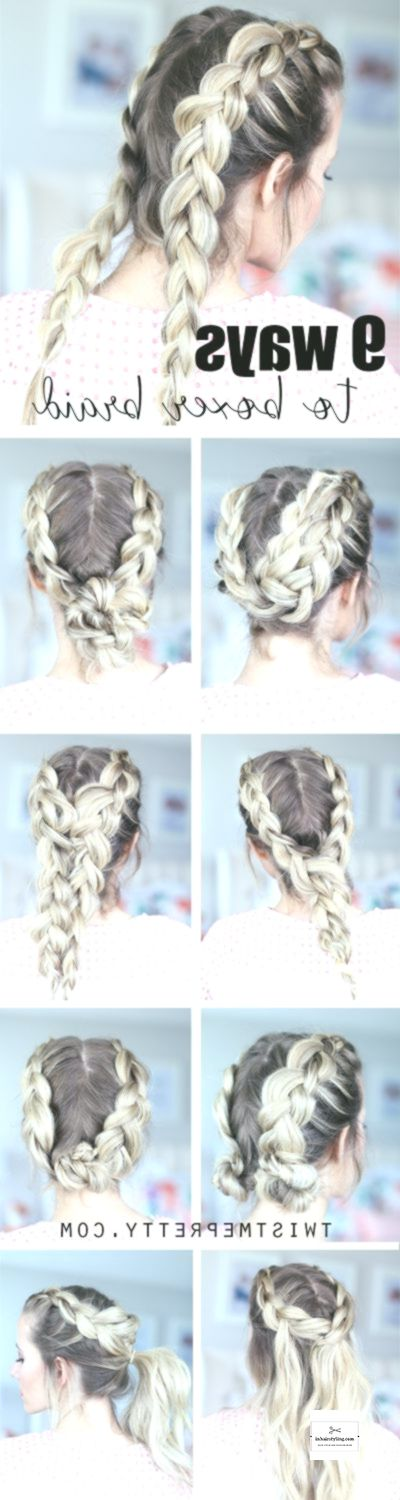 9 hairstyles that start with the trendy boxer brai…