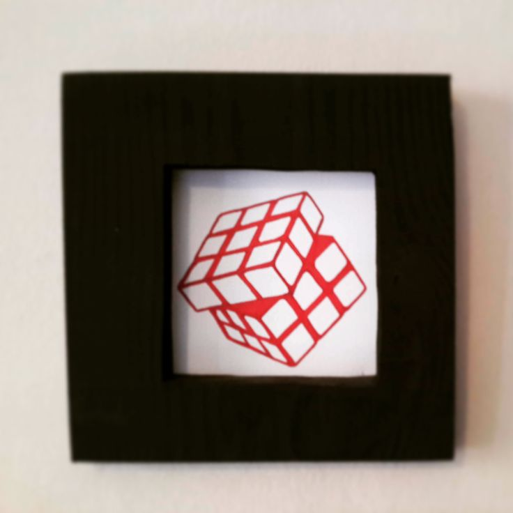 gift wall   #rubik #frame #cube
