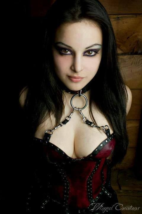 What necessary Hot vampire goth girl can