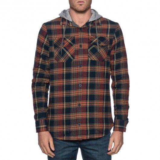 GLOBE Alford Shirt surchemise à capuche 79,00 € #skate #skateboard #skateboarding #streetshop #skateshop @playskateshop