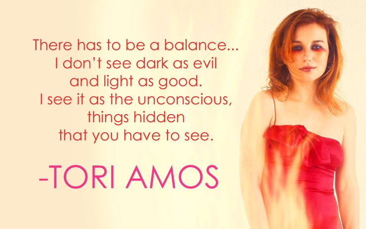 Tori Amos quote