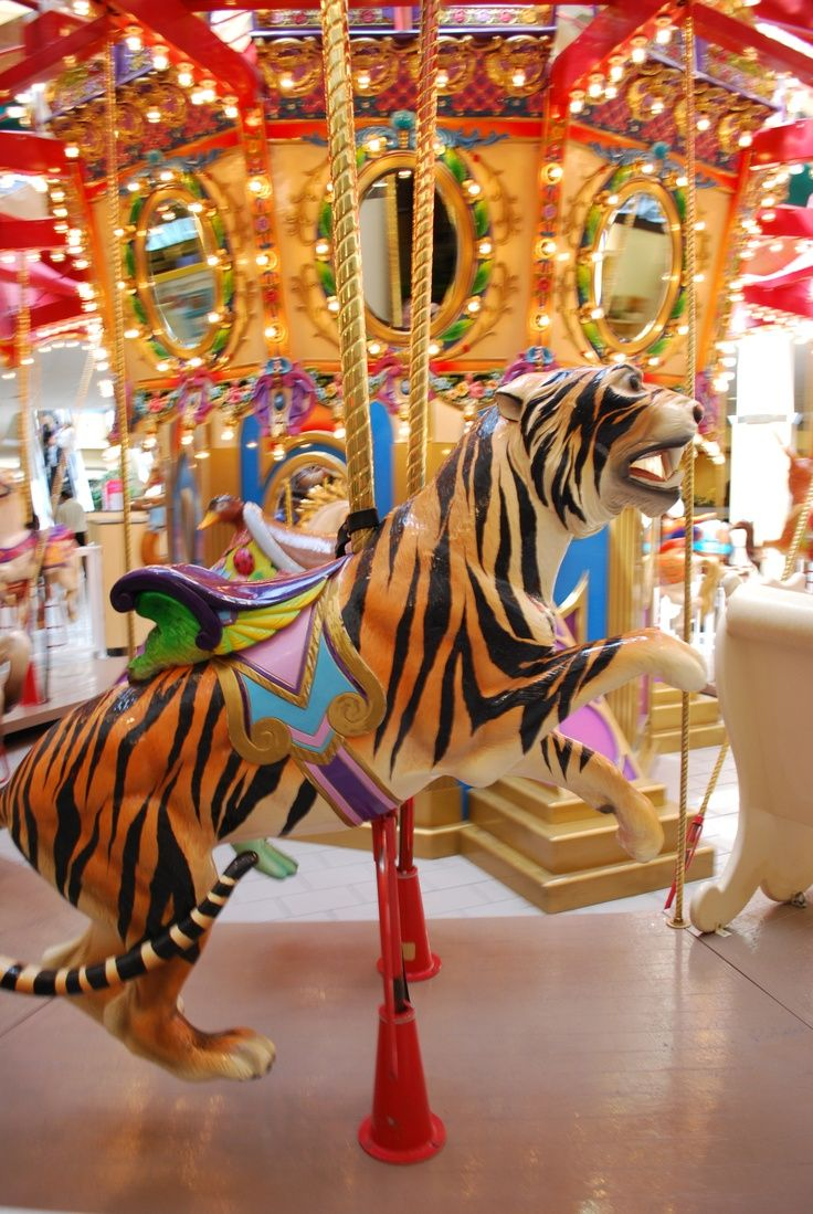National carousel association denver zoo carousel african wild dog - Carousel Tiger