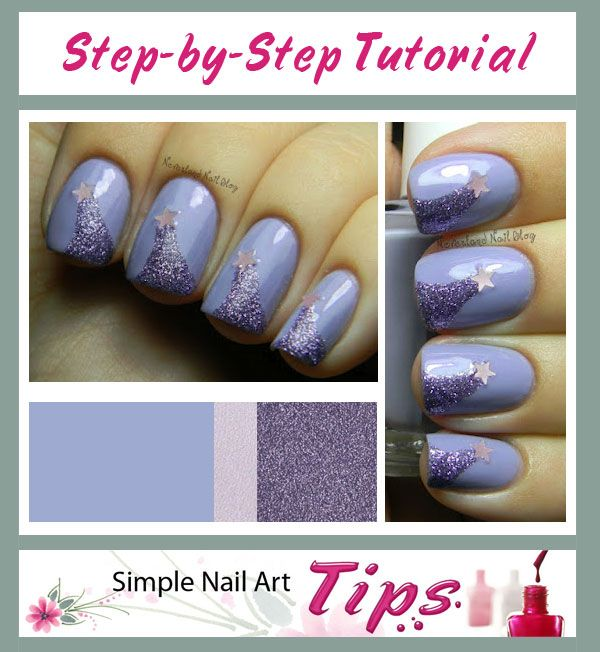 34 Best * Simple Nail Art Tips Images On Pinterest