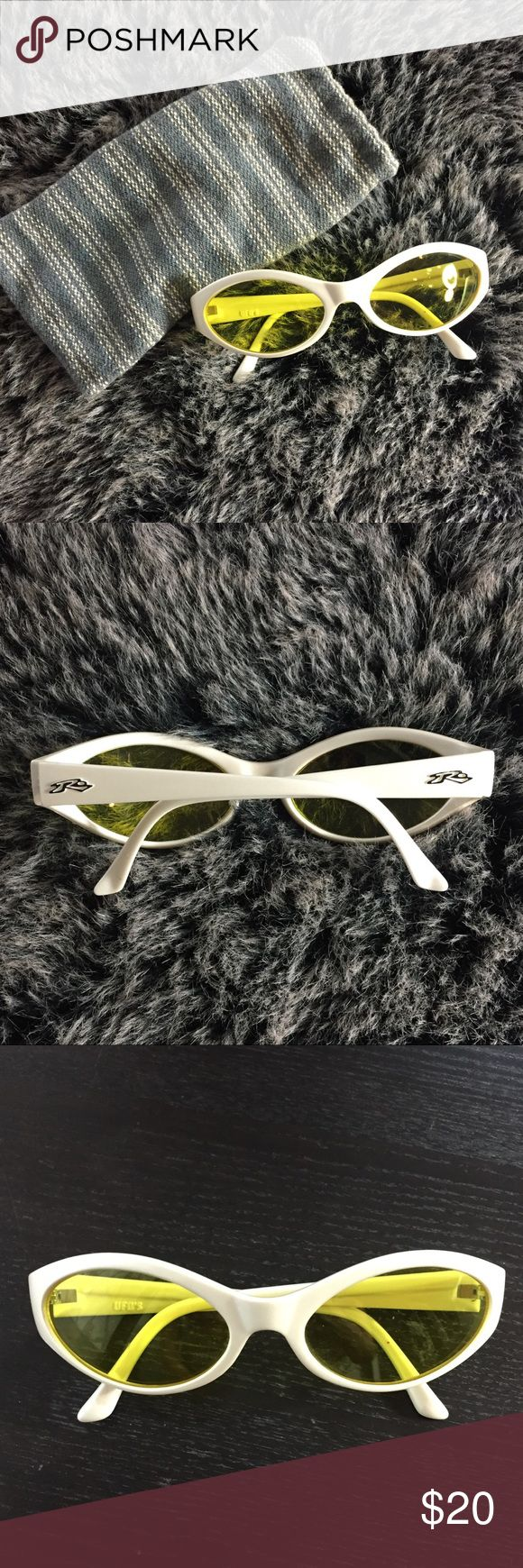 Rusty Surf Supply Yellow Lens Glasses/ Gaming lens Rusty Surf Supply, Yellow Lens Sunglasses ⭐️EUC - Like New! ⭐️ Perfect glasses for gamers or social media junkies! 🎮 Yellow lenses are also known to reduce eye fatigue and strain caused by the blue light emitted by screens. ❄️ These glasses were also a lifesaver when snowboarding at night because they help lighten trails and tone down the glare from the bright lights of snow resorts with icy conditions.  📦 Fast shipping! Bundle multiple…