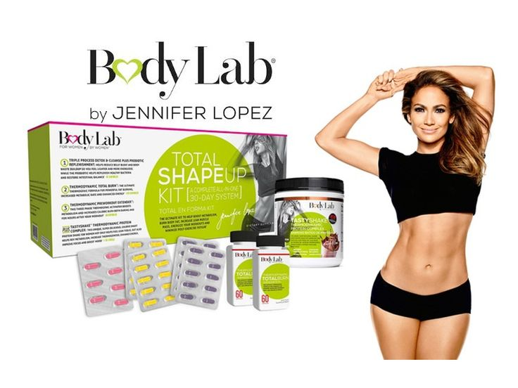 Jennifer Lopez Weight Loss Products - BodyLab