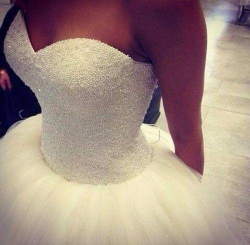 Princess wedding dress - Wedding look