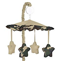 Sweet Jojo Army Style unique baby mobiles