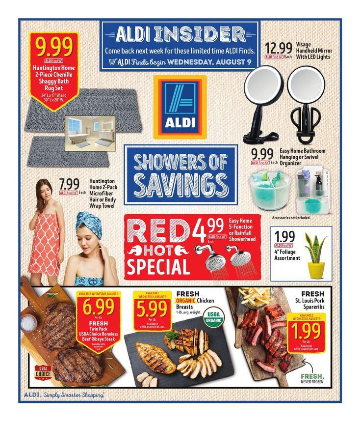 Aldi In Store Ad Starting August 9 - 15, 2017 - http://www.olcatalog.com/grocery/aldi/aldi-in-store-ad.html
