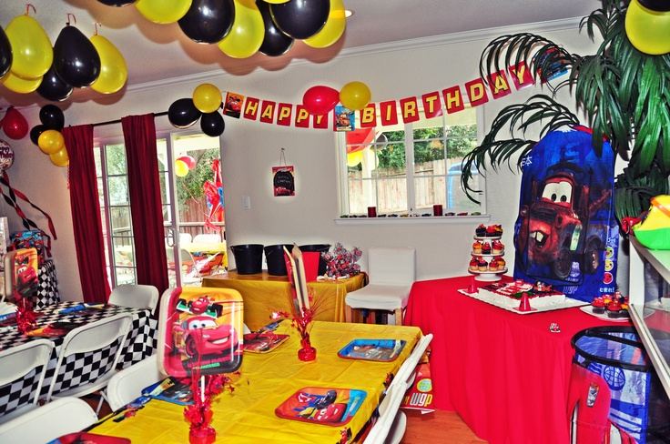 10 Best Images About Disney Cars Birthday Party On