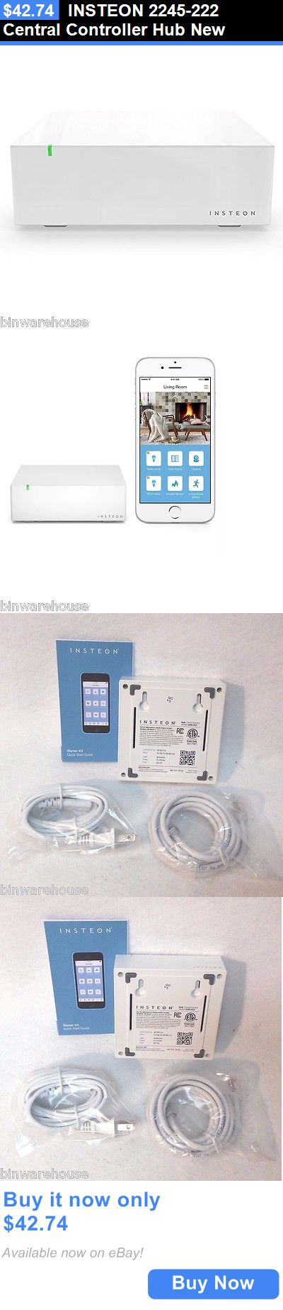 Home Automation Modules: Insteon 2245-222 Central Controller Hub New BUY IT NOW ONLY: $42.74