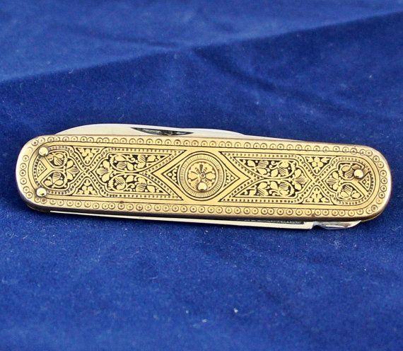 1930s Bonsa Solingen Folding Knife German By