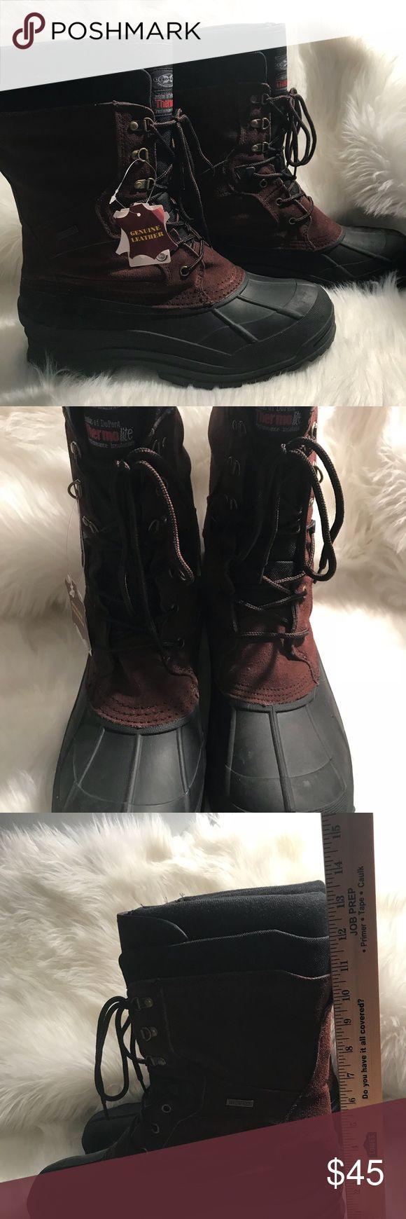 Brand new men's Tall winter snow ❄️ rain ☔️ Boot Brand new men's Tall Waterproof winter snow ❄️ rain ☔️ Boot many sizes available Shoes Winter & Rain Boots
