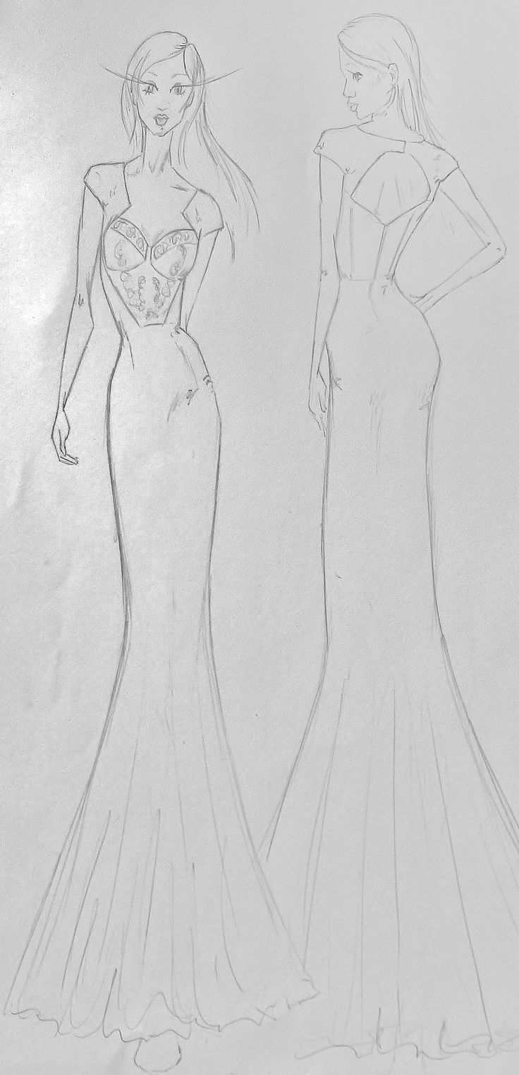 #fashiondesign : My sketch fashion illustration #fashiondesign #illustration #drawing #sketch #fashion #capetown #southafrica #moltenocreations