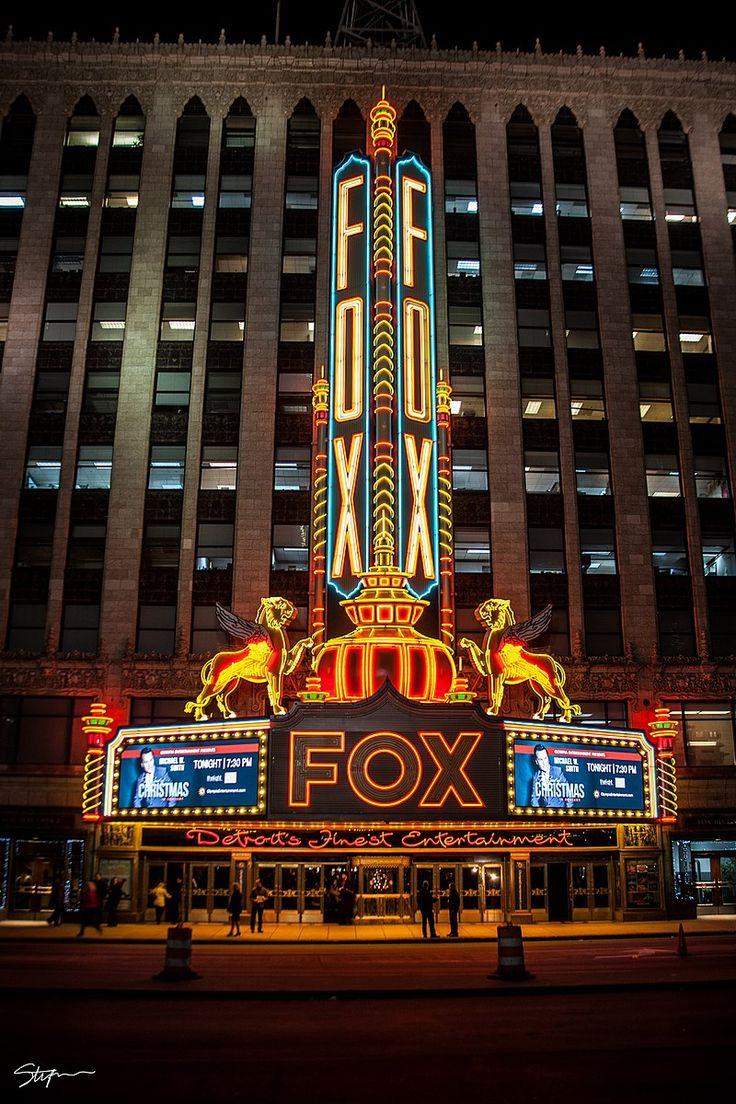 Fox theatre in detroit historic theater detroit city