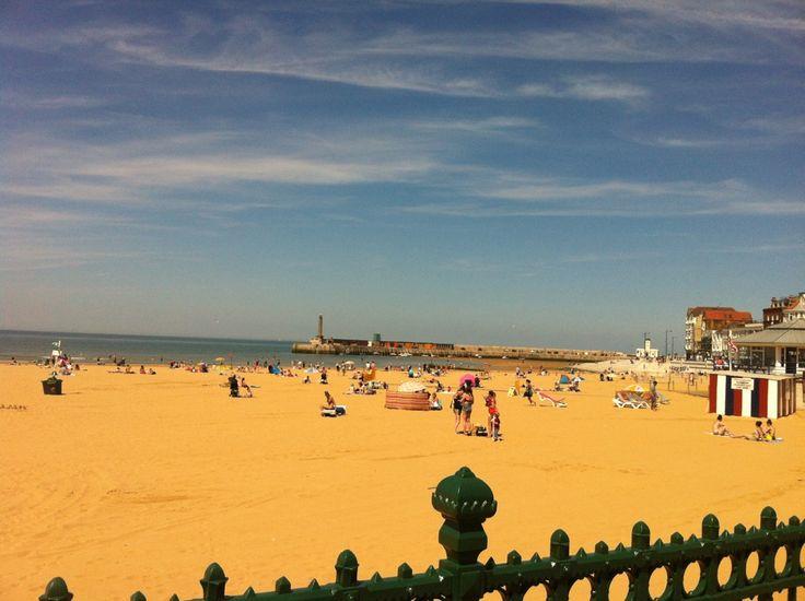 Margate Beach in Margate, Kent
