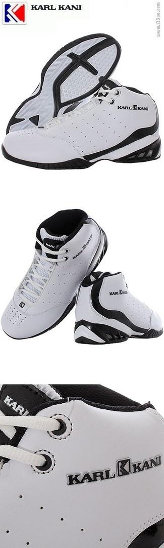 Karl Kani sko  i basket stil i hvid og sort farve. Størrelser fra 40 til 46. Kan også fås i sort-hvid model. Se mere i vores streetwear butik  www.123yo.dk