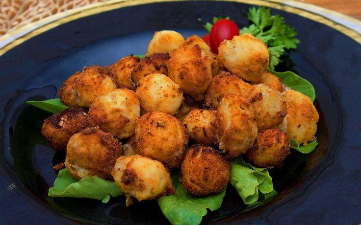 Low Carb Appetizers Fried Mozzarella Balls