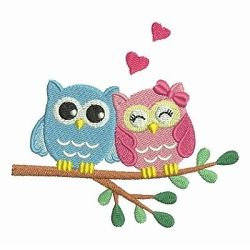 Baby Owls 3, 1 - 4x4 | What's New | Machine Embroidery Designs | SWAKembroidery.com Ace Points Embroidery