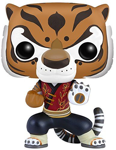 POP Movies: Kung Fu Panda - Tigress from Funko! Now you can bring your favorite characters home! Figure comes in a window display box. Check out al...