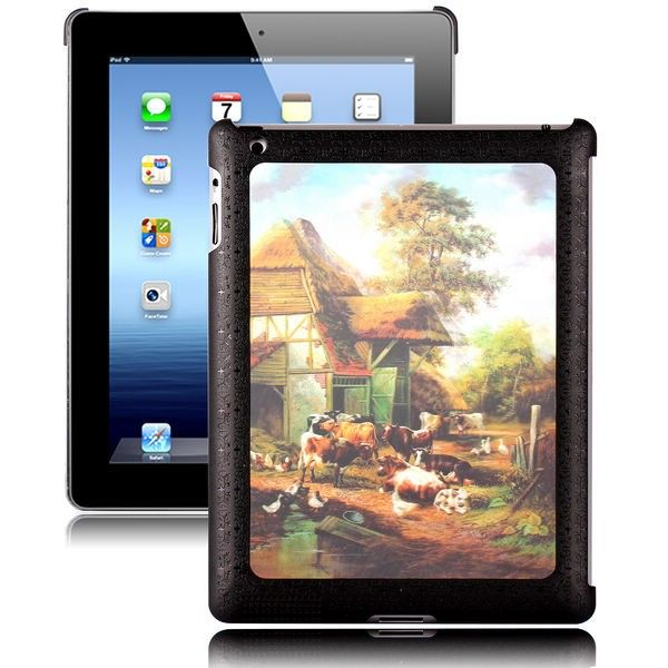 Adventure - 3D Effect (Country Side) iPad 2 Cover