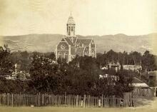 St. Peter's Cathedral in Adelaide,South Australia in 1875.