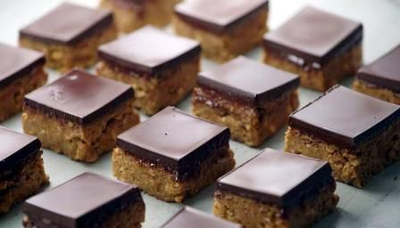 Recipe for peanut butter squares
