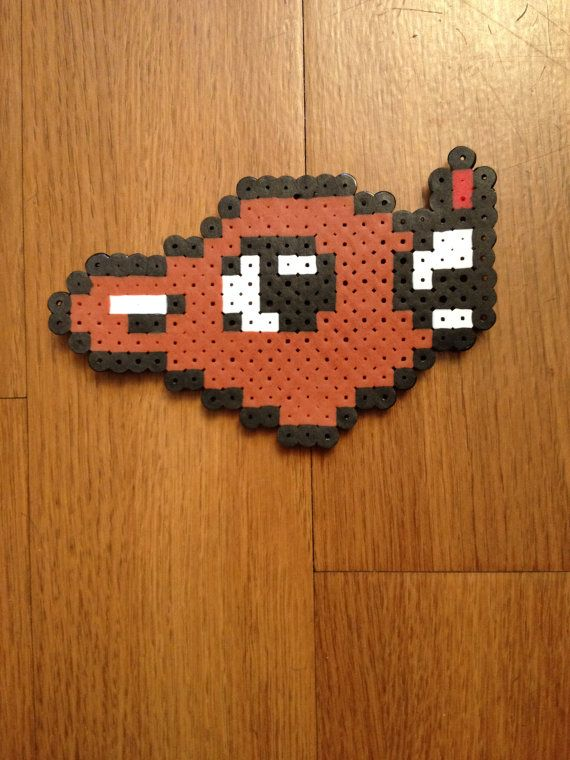 Rudolph the Red Nosed Reindeer Perler Beads by