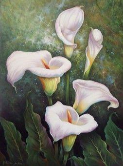 "Art teachers - Kathwren Jenkins artteachers.org253 × 340Buscar por imagen ""ELEGANT CALLA LILLIES"""