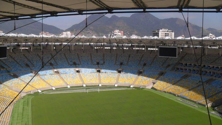 La final del Mundial de Brasil 2014 se jugó sin miedo a la lluvia gracias a que la evacuación de la cubierta del estadio de Maracaná, se realiza con tubos HDPE de Geberit.