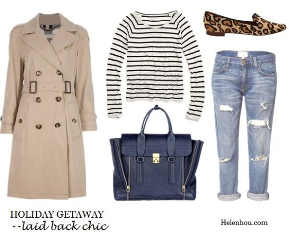 where to buy celine luggage tote - classic trench coat,how to wear trench coat, striped tee shirt ...