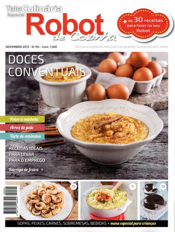 TeleCulinária Robot de Cozinha Nº 94 - Novembro 2015