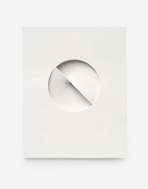 Bianca Chang Comparative form in white(Rotation, CW), 2013Paper26 x 32.5 x 3cm